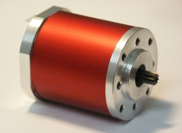 Synchronous motor SE4215 prepared to attach a planetary