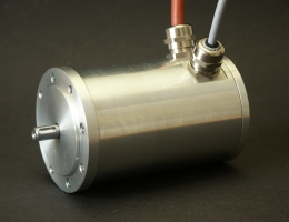 Brushless DC motor high protection class IP67